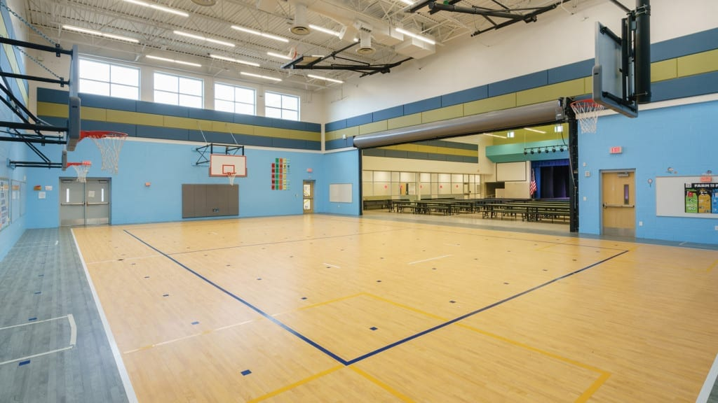Ralph Bunche Elementary School Gym and Cafeteria