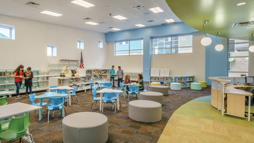 Ralph Bunche Elementary School Library for Learning
