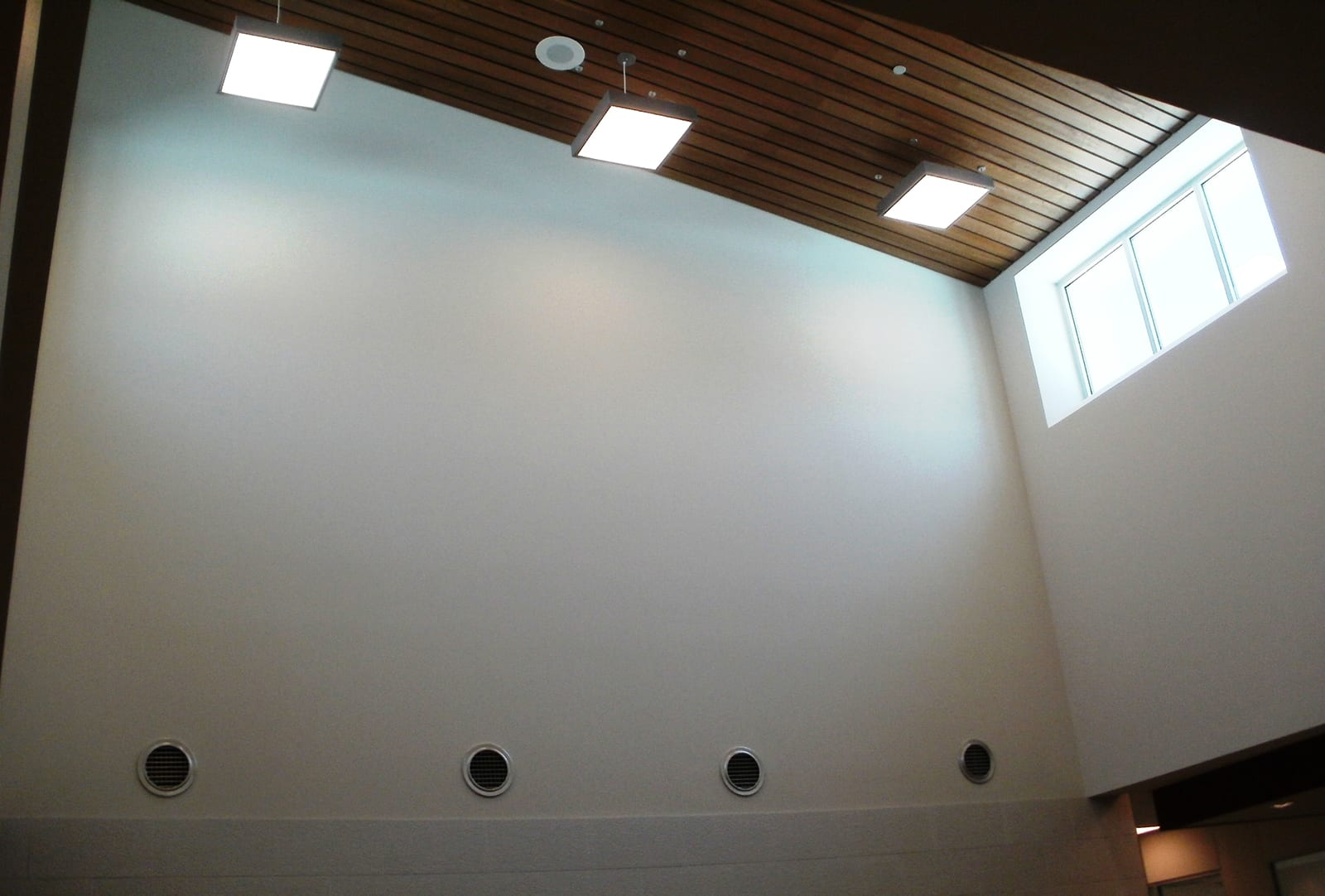 LED Lighting at Ridgeview ES