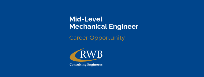 Mechanical engineer job opportunity