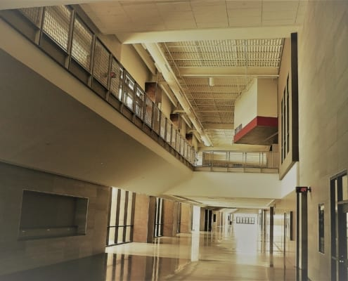 Braswell High School in Aubrey, TX - Interior