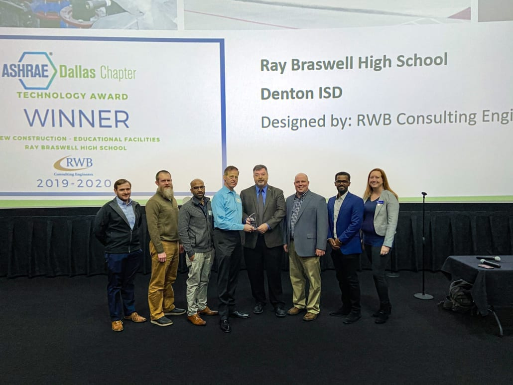 RWB Consulting Engineers wins ASHRAE Dallas Technology Award