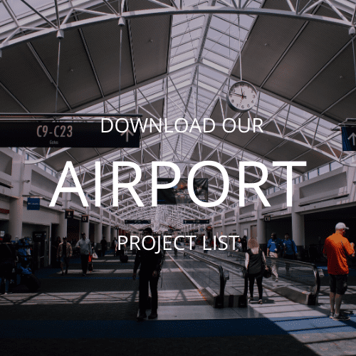 Airport Project List for MEP Engineering Services from RWB