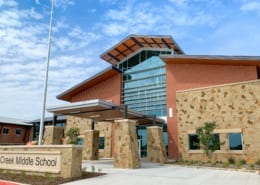 Marine Creek Middle School - Building Exterior