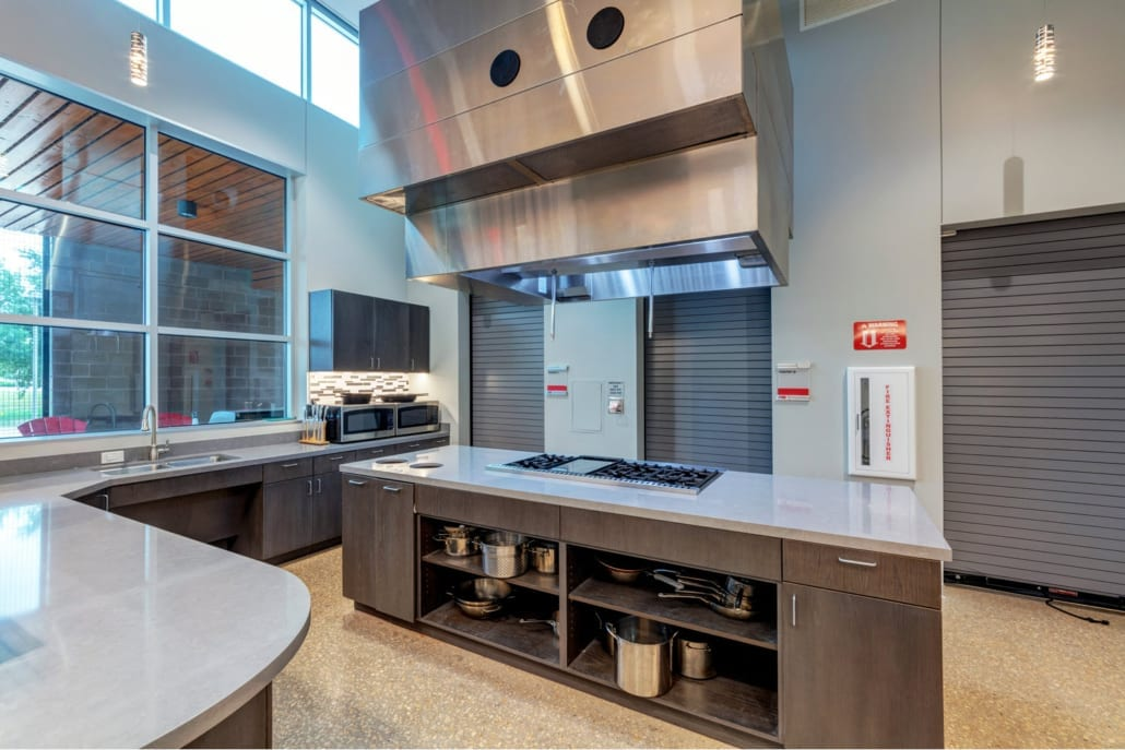 City of Allen Central Fire Station Kitchen